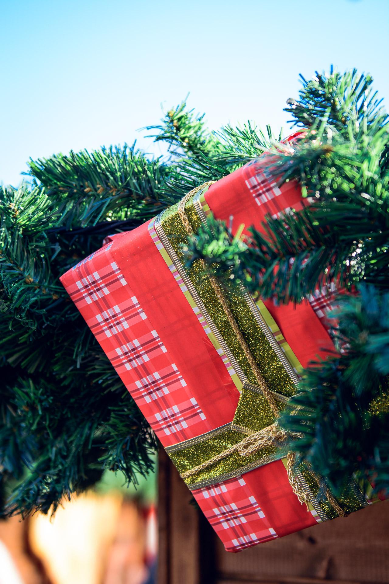 Christmas spirit present