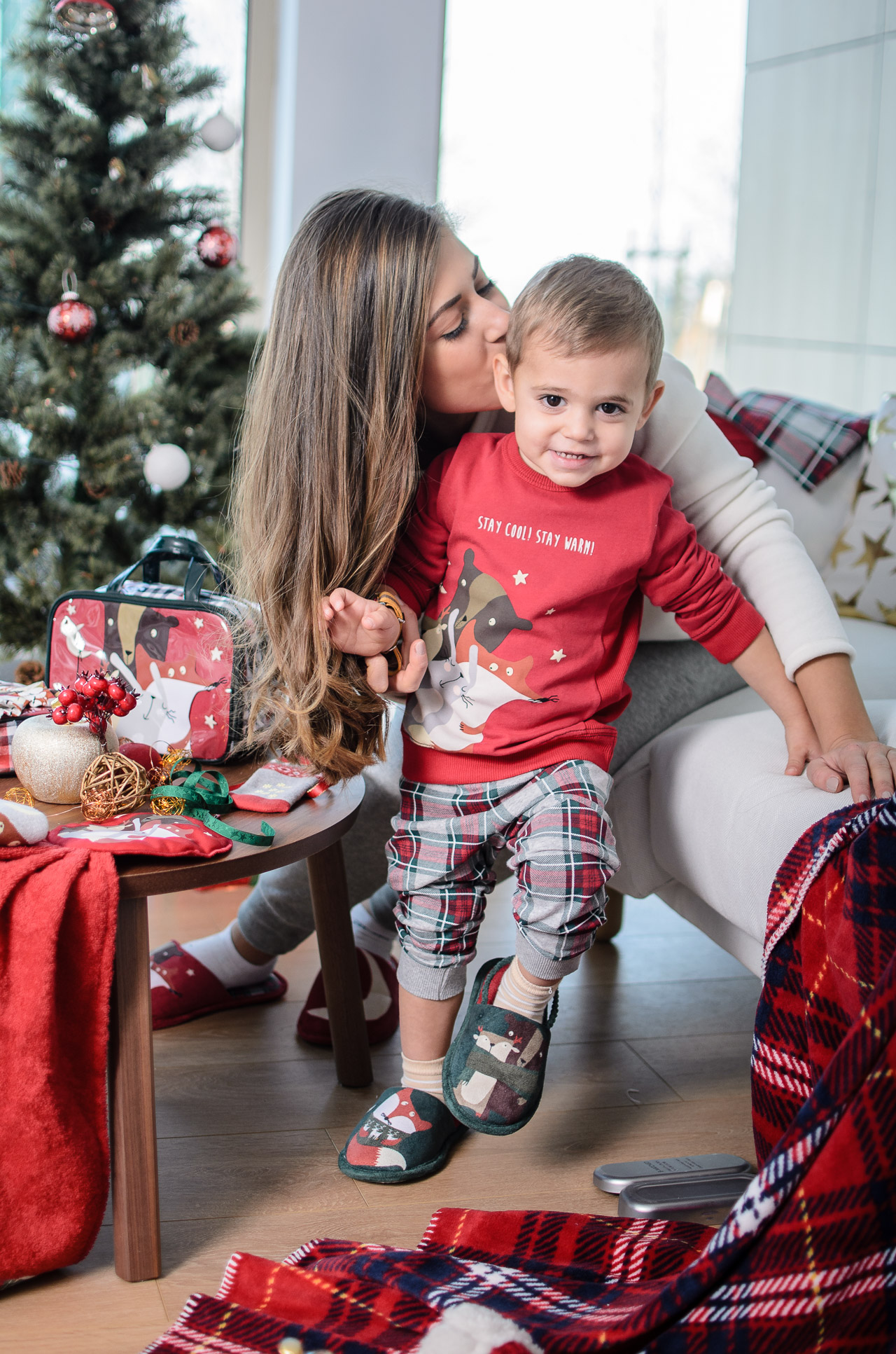 Christmas time with Benetton
