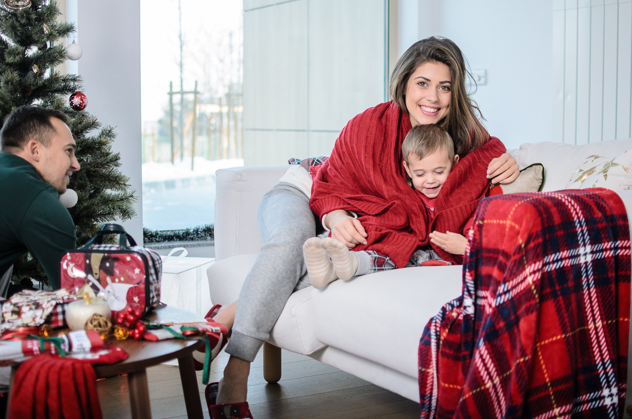 Family time wtih benetton christmas collection