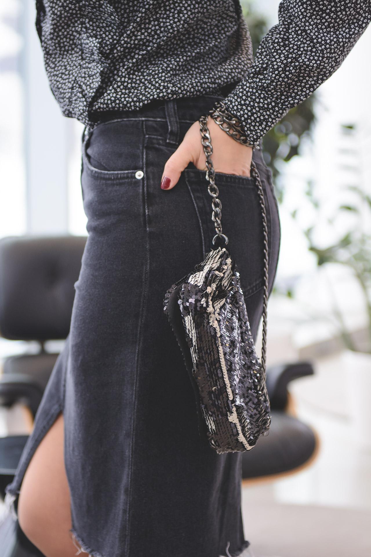 2017 Jeans Skirt H&M
