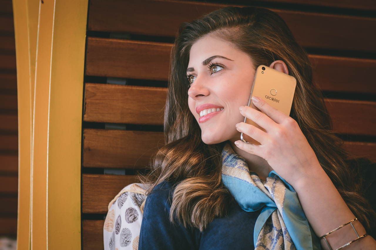 2016 Talking Alcatel phone