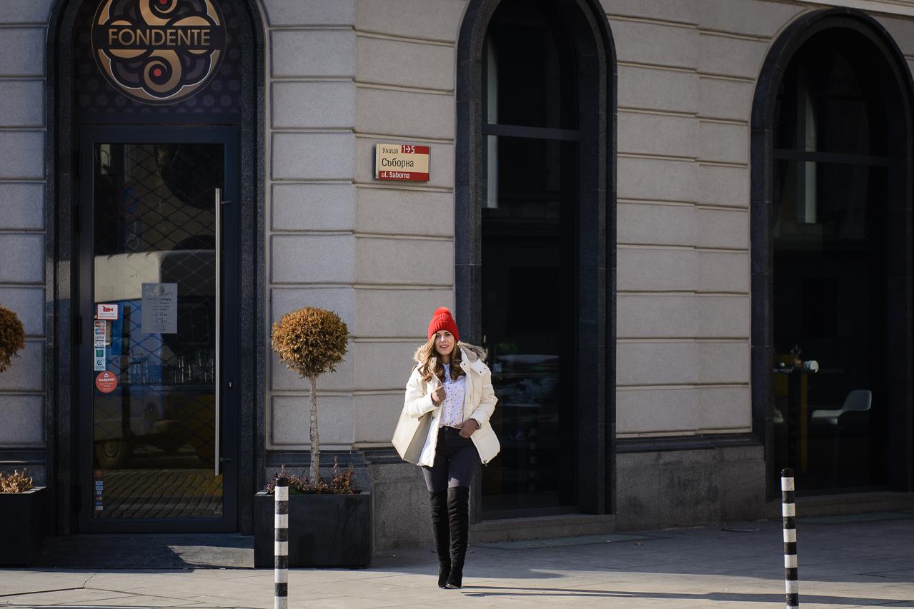 Top bulgarian blogger Denina Martin