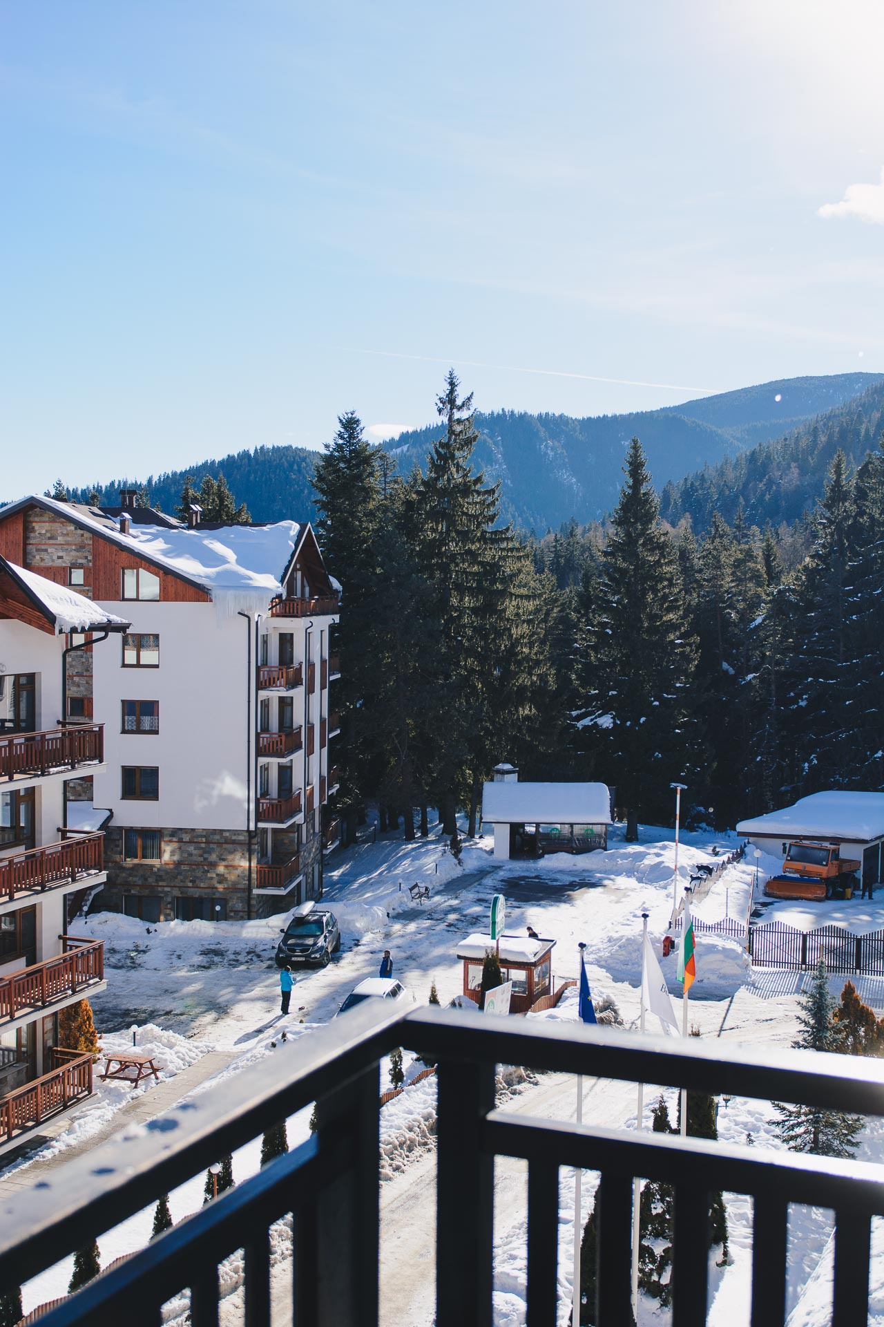 Borovets hills and spa
