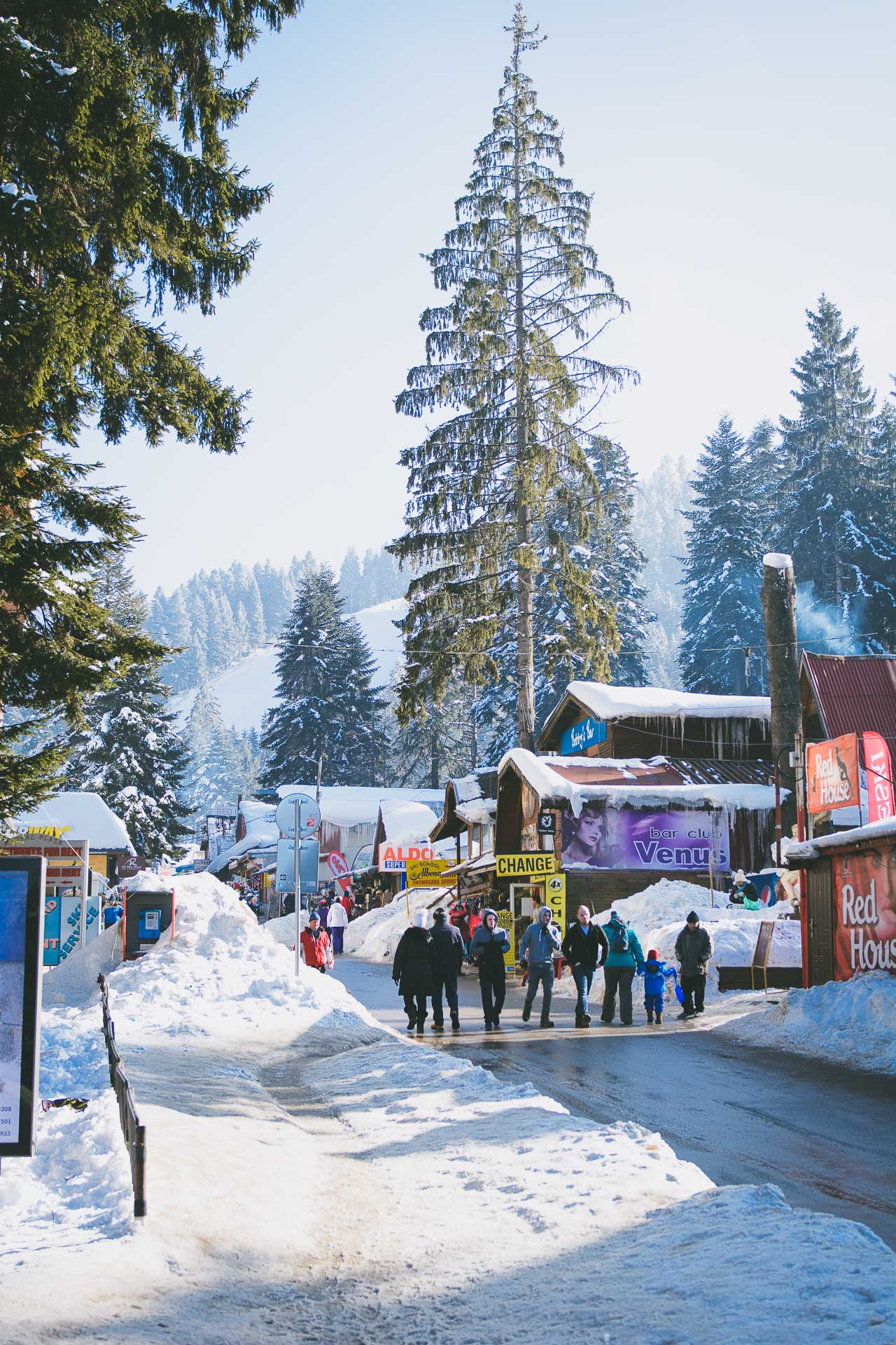 Borovets mountain destination