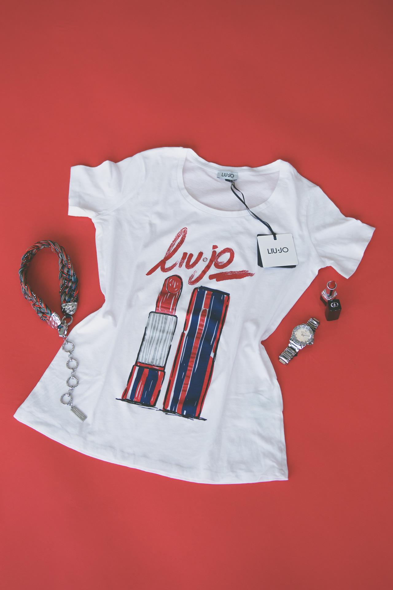 Liu Jo t-shirt valentine days gift