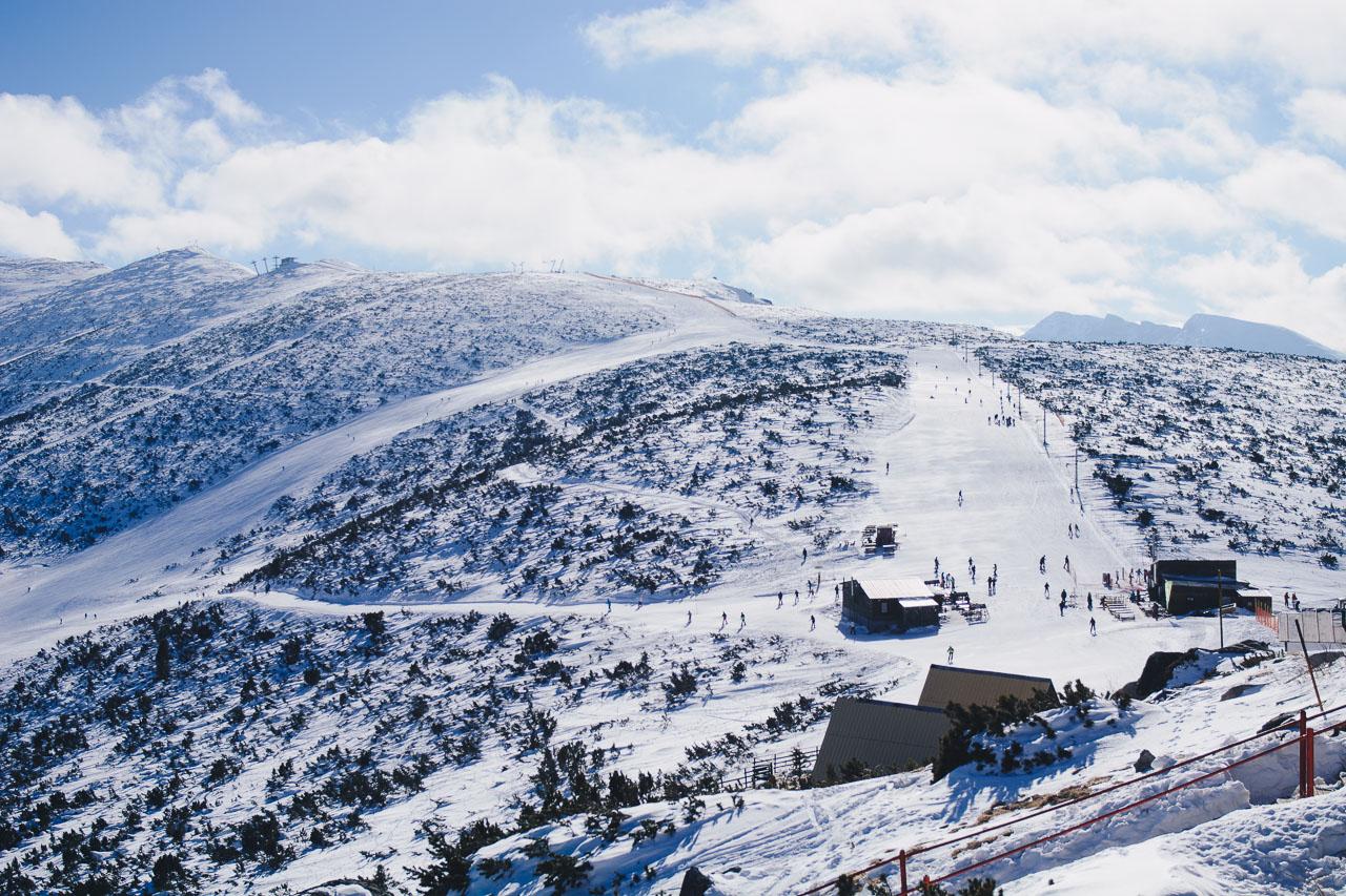 Ski trace Borovets