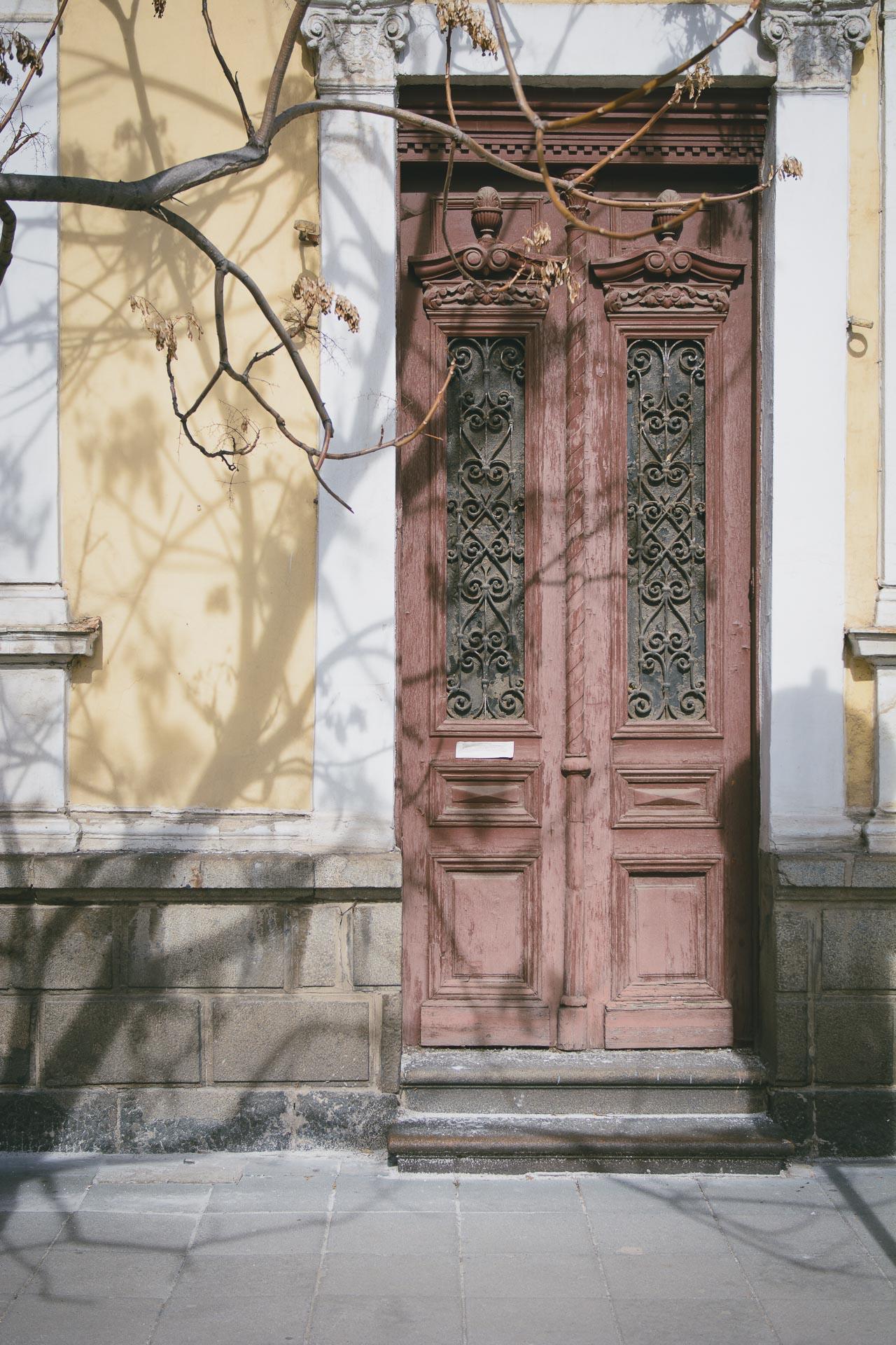 Sofia downtown door