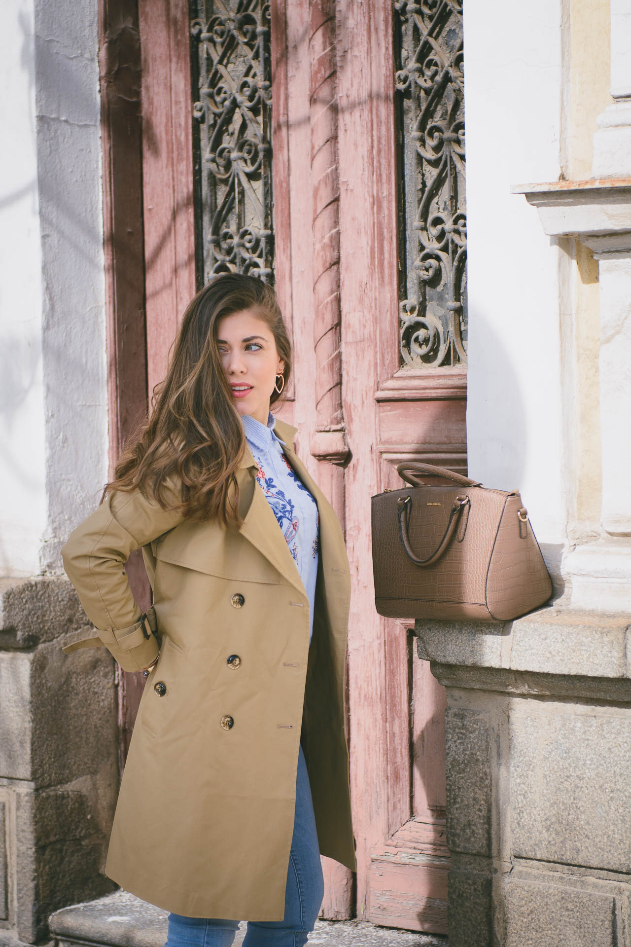 Tom Tailor trench coat spring 2017