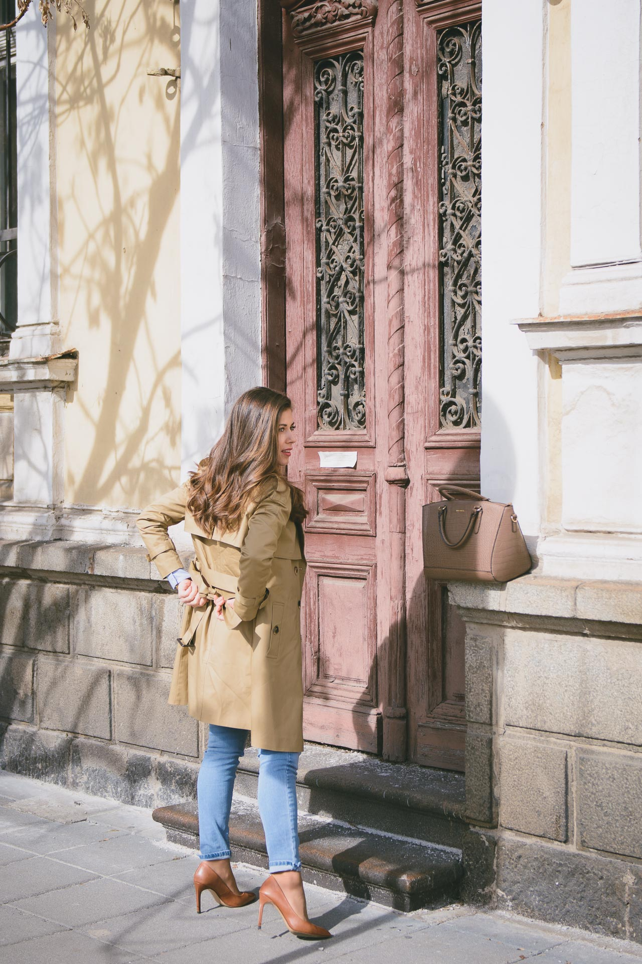 Tom Tailor trench coat spring fashion look
