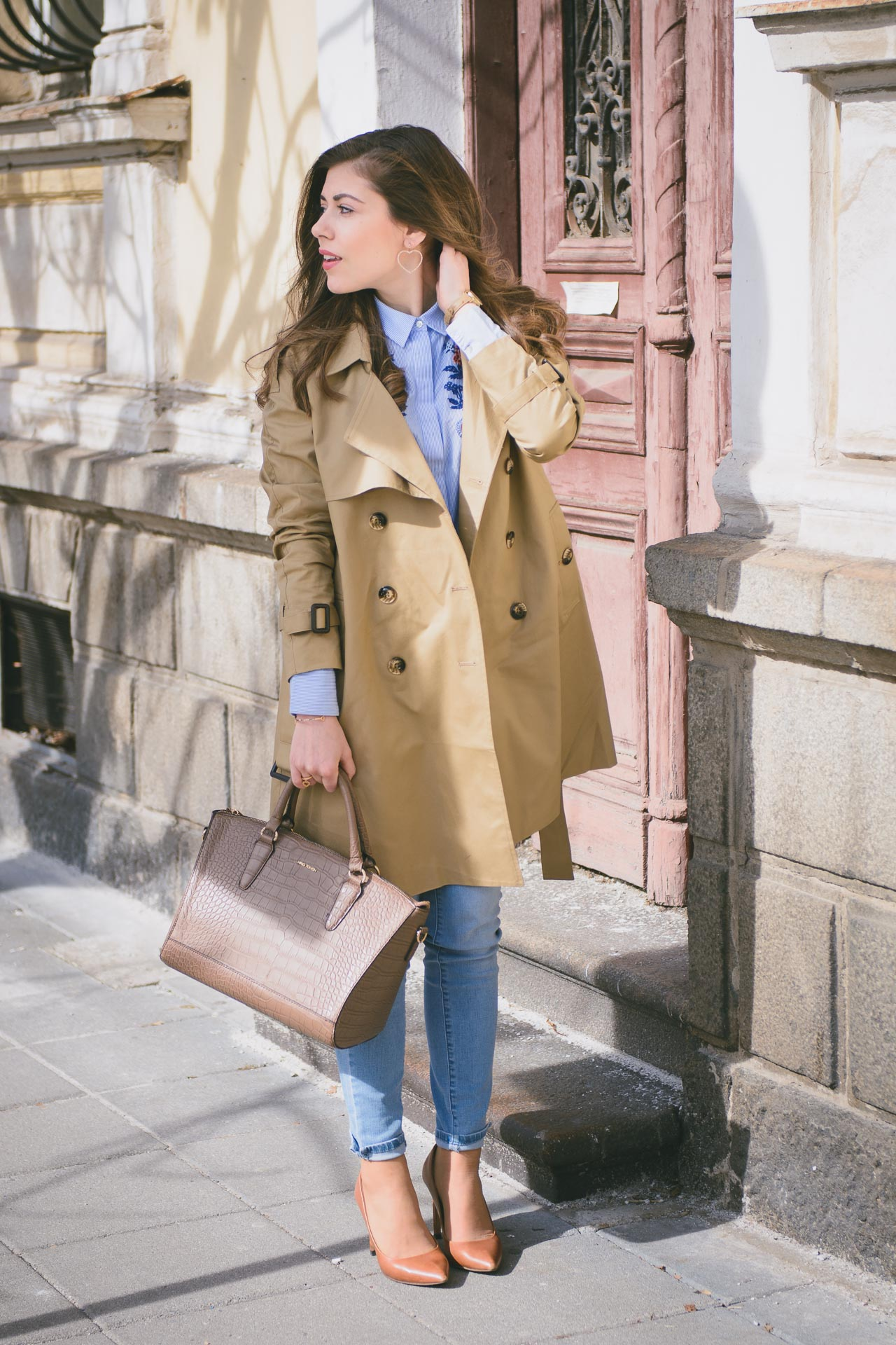 Tom Tailor trench coat spring fashion