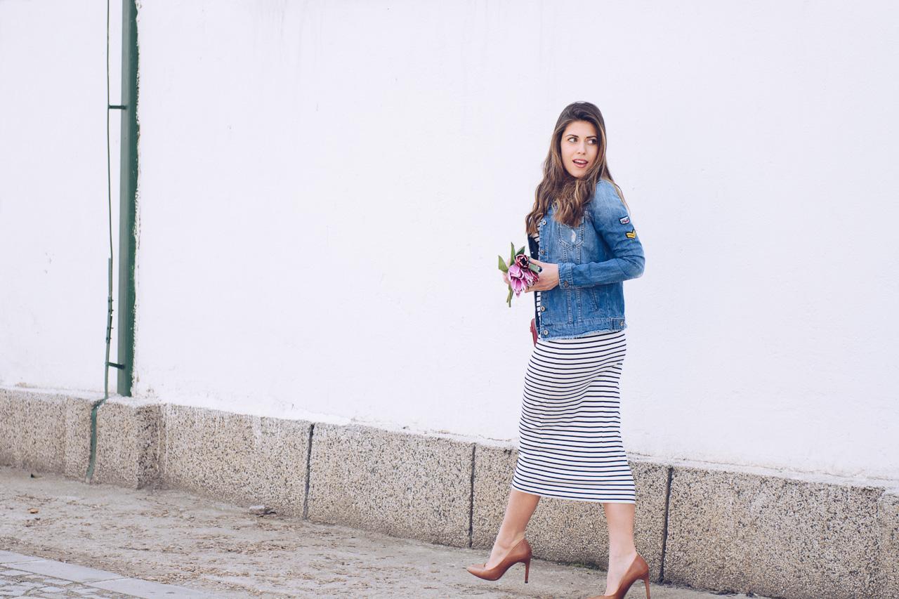 Breton striped dress