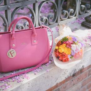 Furla flowers bouquet 4 handbag brands