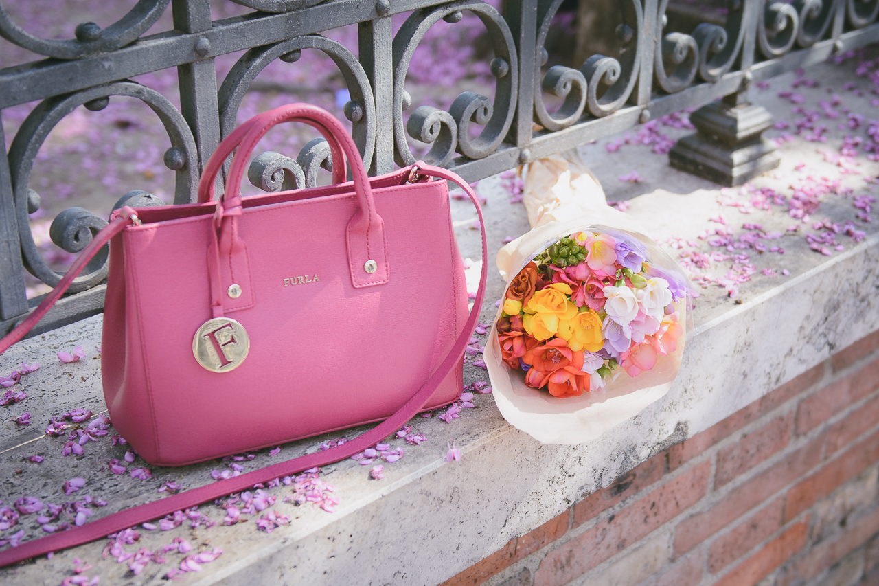 Furla flowers bouquet