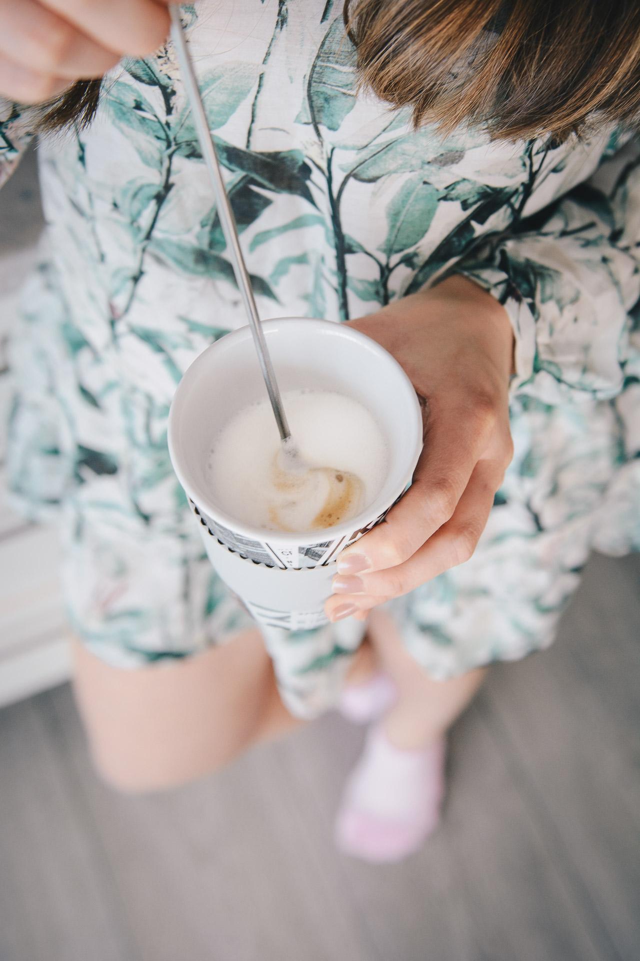 Saeco latte macchiato