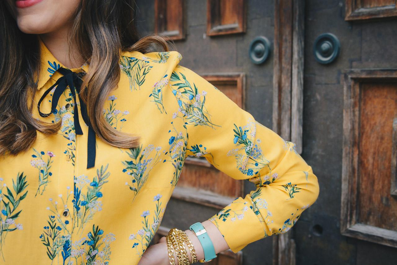 Spring florals shirt 2017