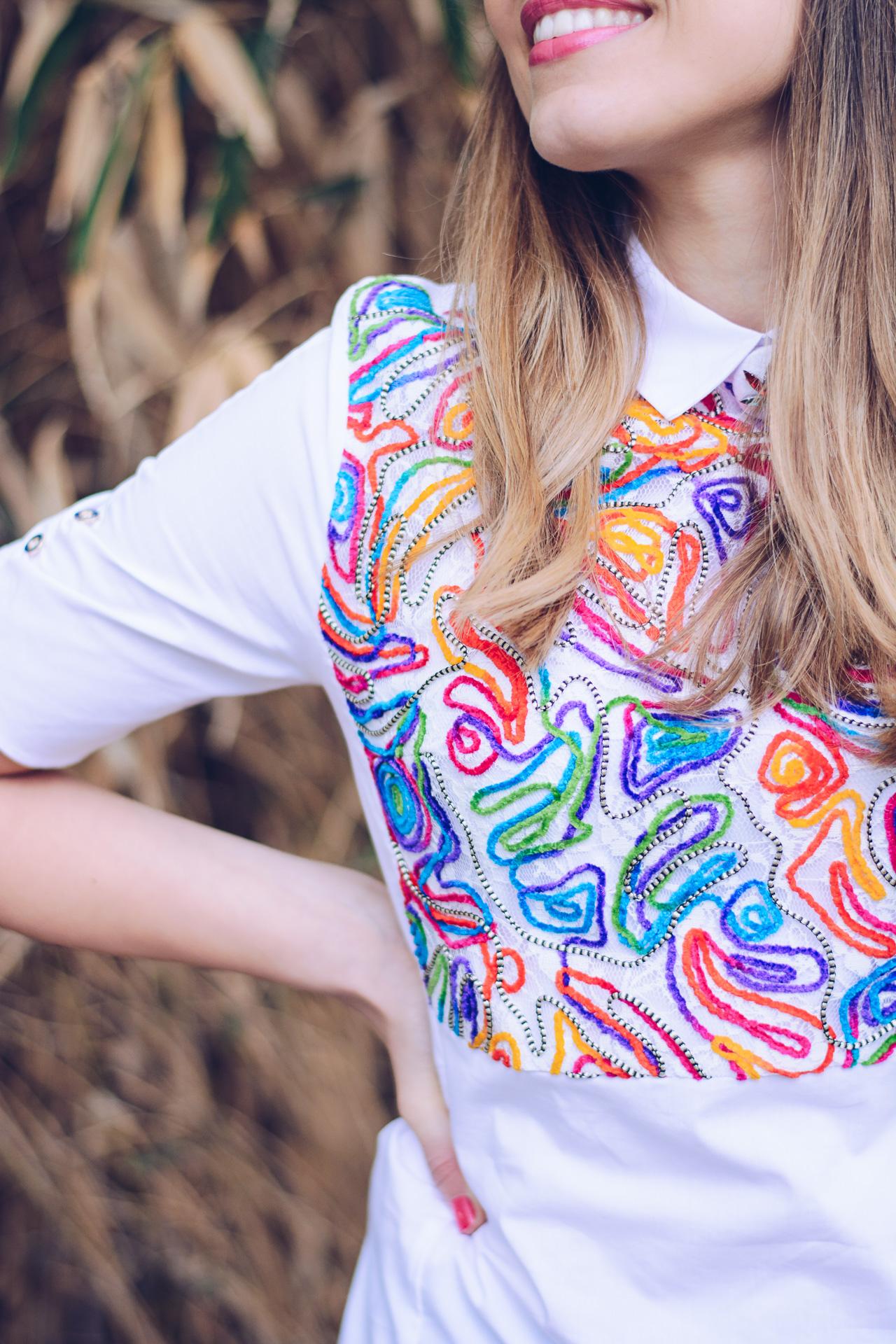 Бродирана риза
