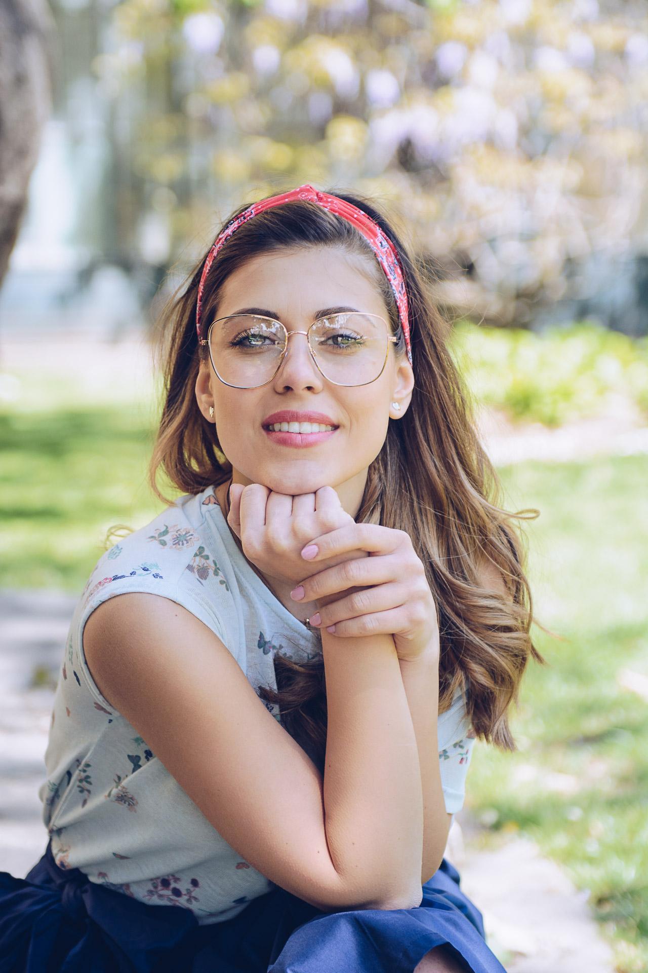 Geeky Glasses Trend Denina Martin