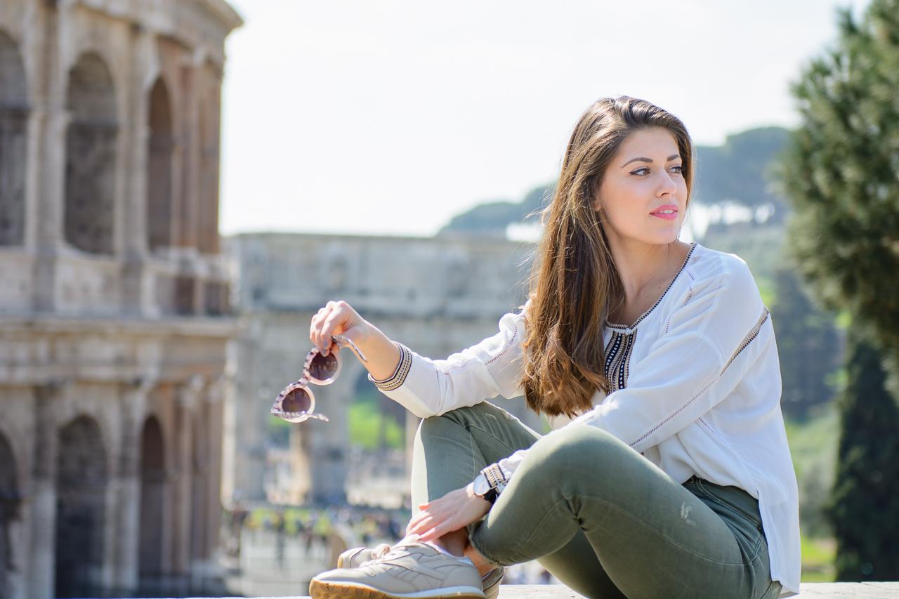 Rome Travel Guide Blogger Colosseum Denina Martin