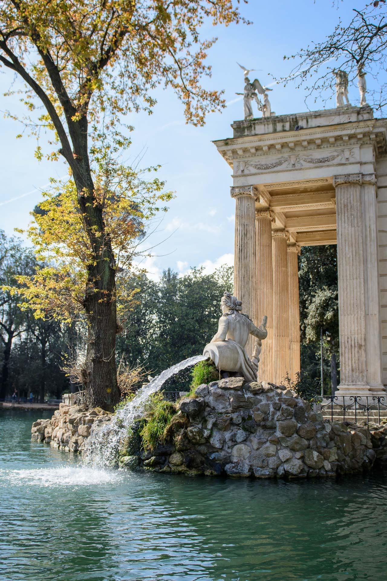 Villa Borghese Park Lake Boat Hire