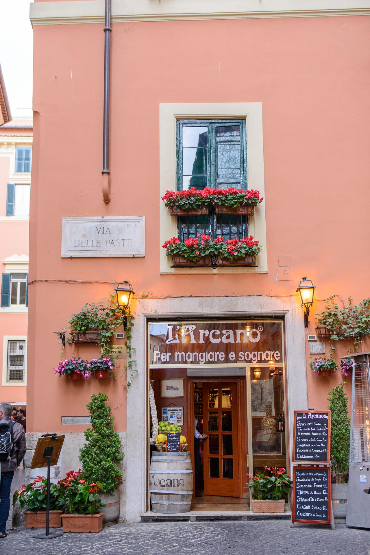 larcano restaurant rome