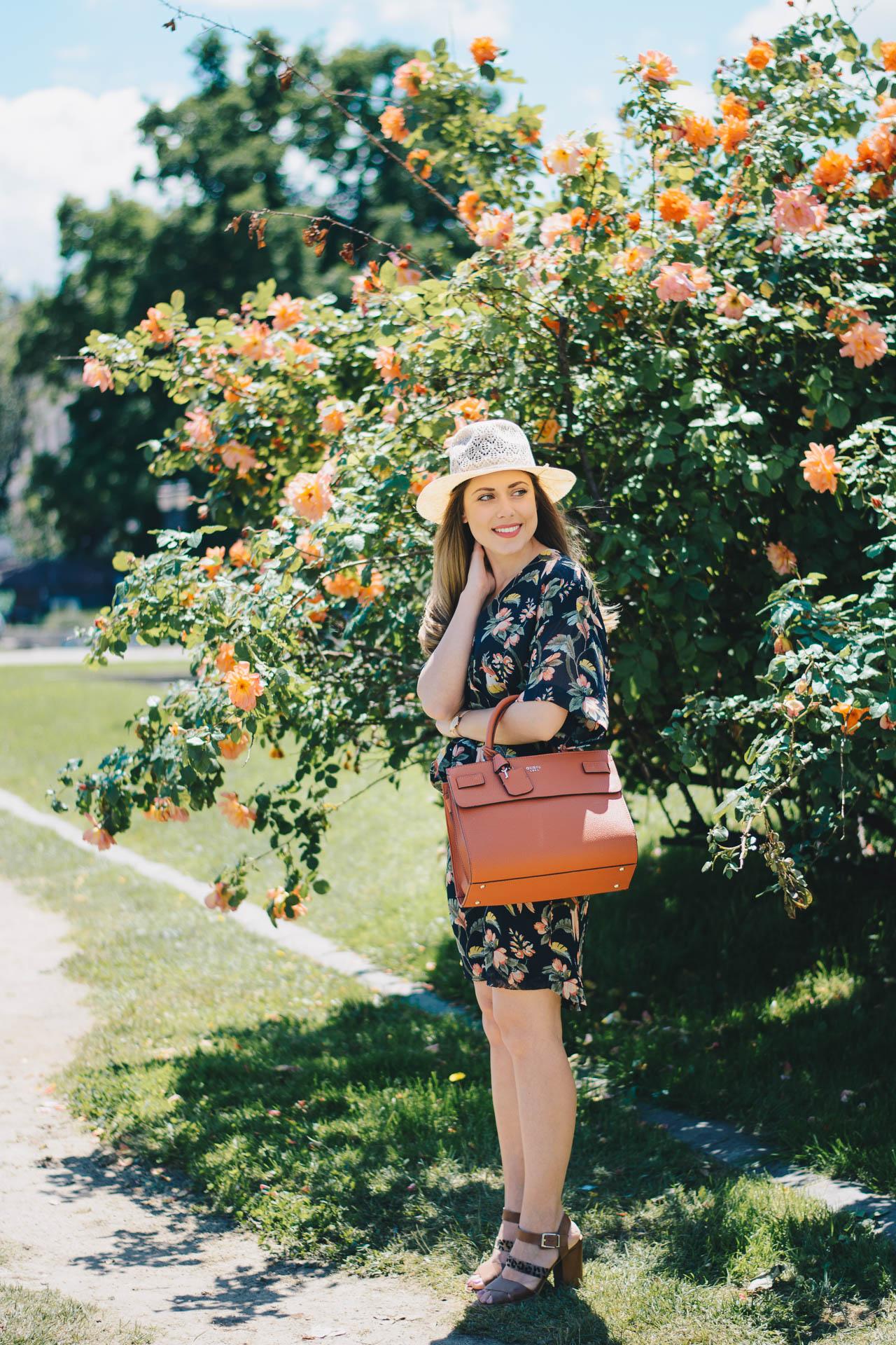 20170529 Liu Jo floral midi print dress