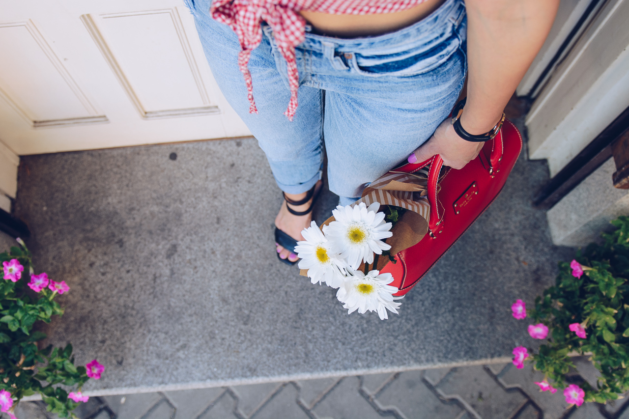 20170531 Kate Spade handbag flowers