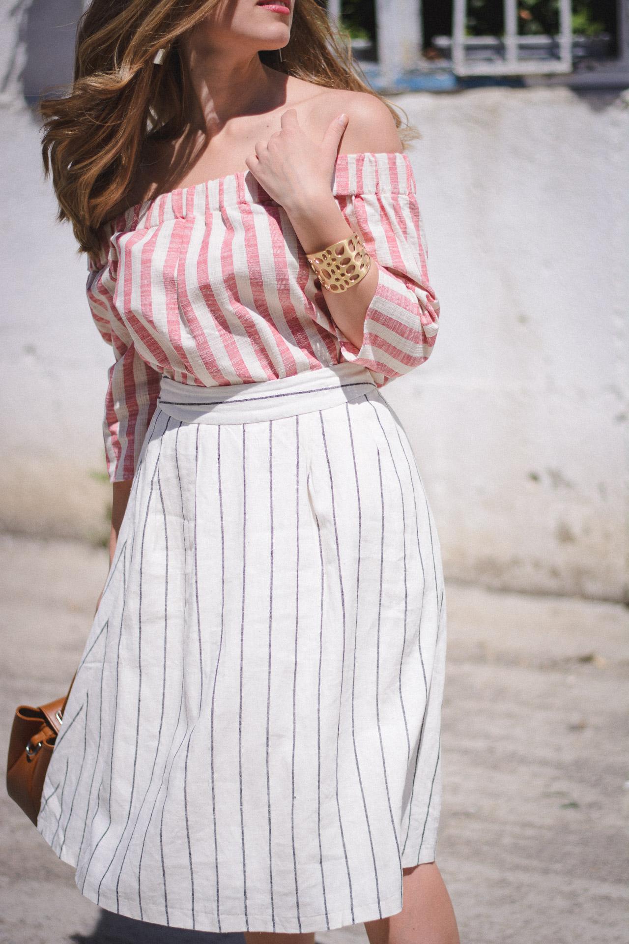 Vero moda skirt top
