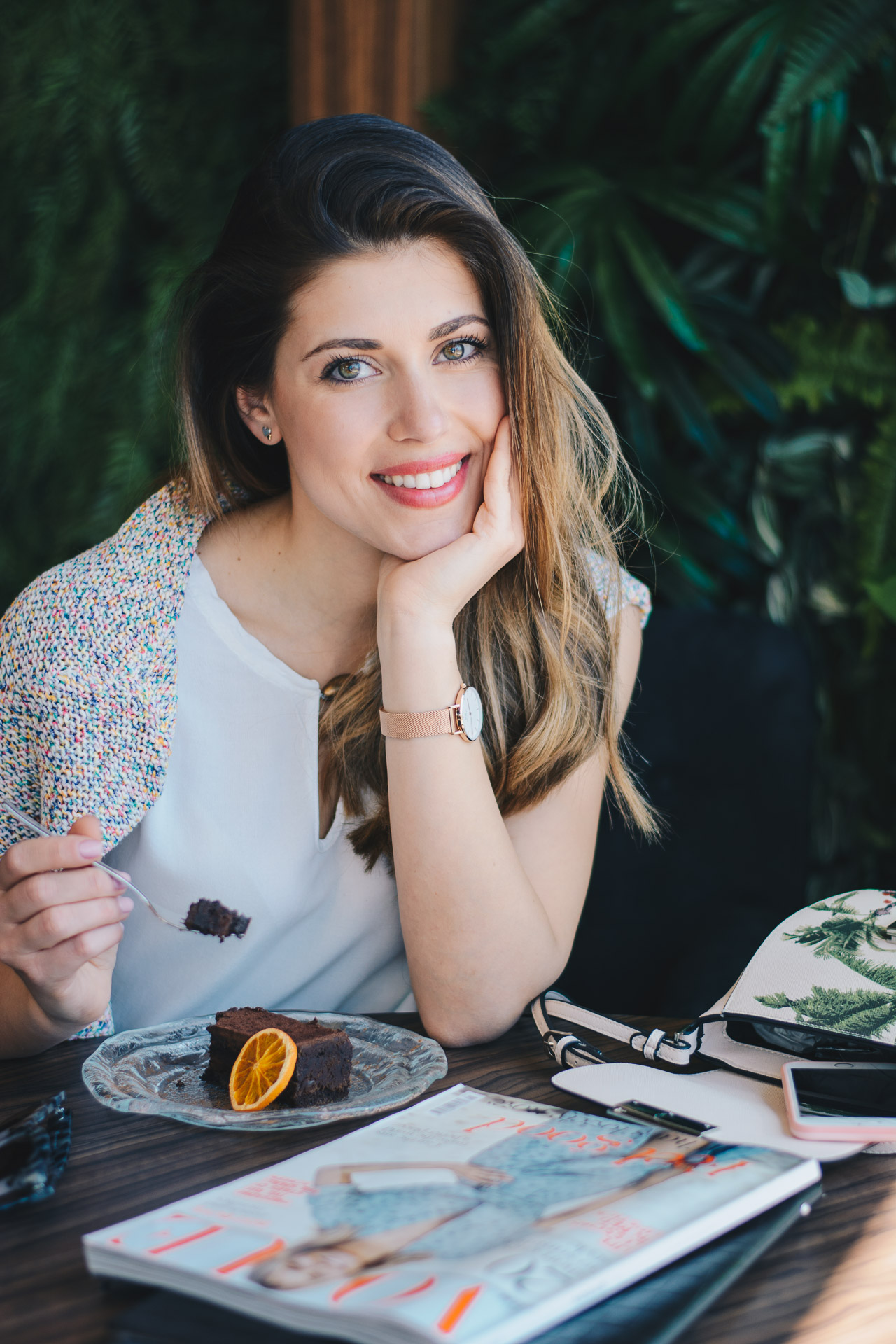beautiful Denina Martin blogger