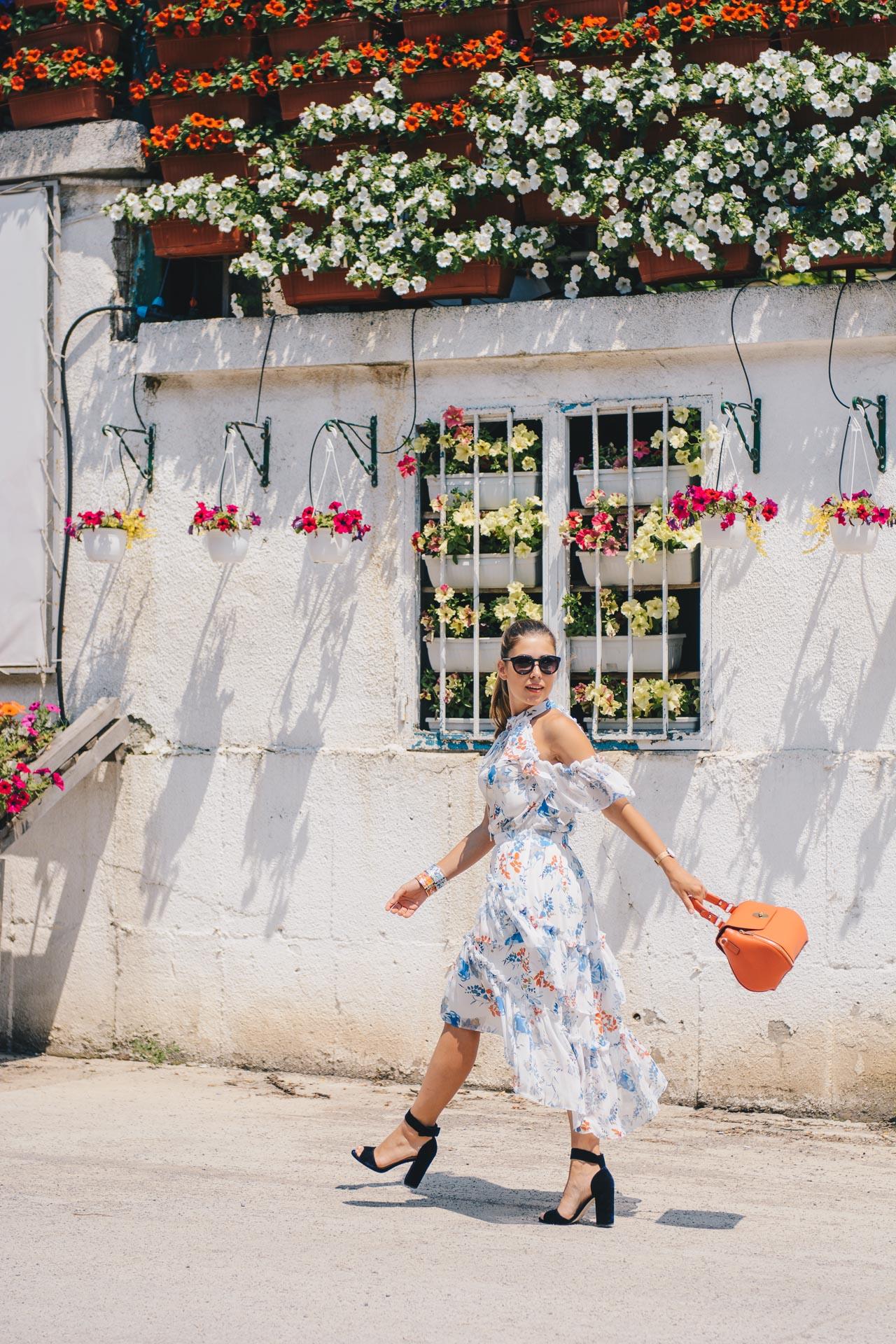 Floral midi dress 22062017