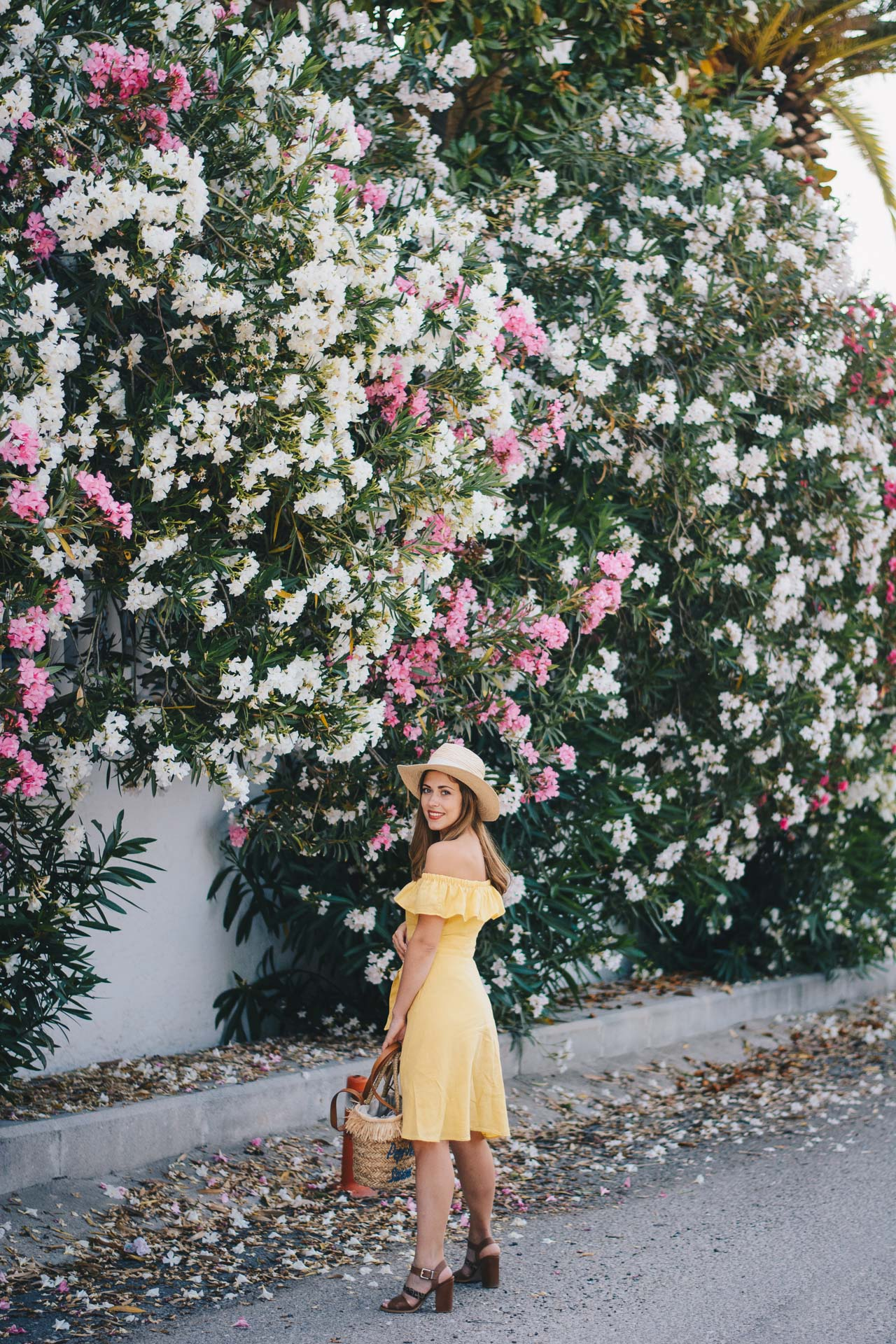 Yellow sun dress greece