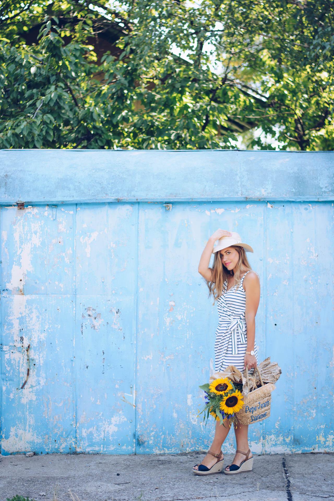 Моден блогър Денина Мартин