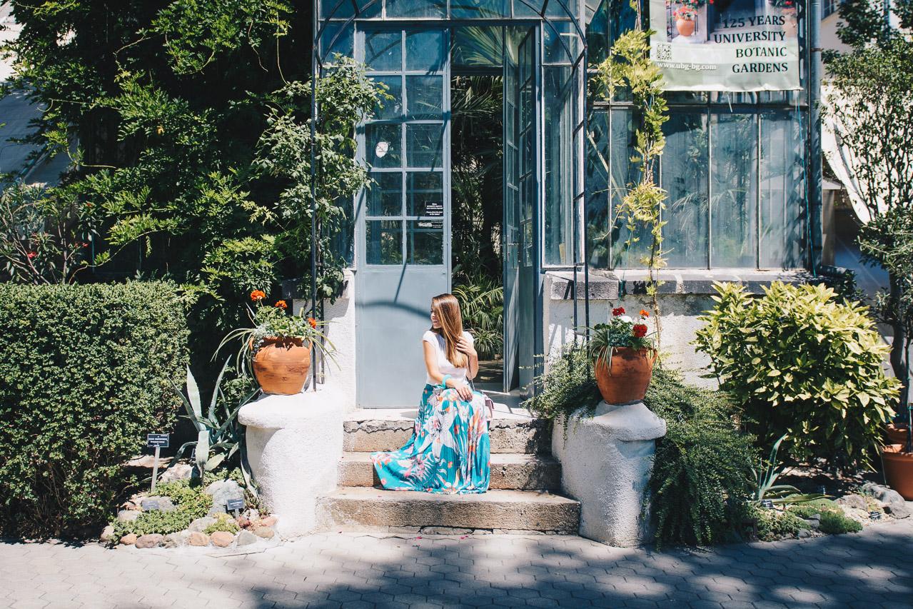 Botanic floral skirt 06072017