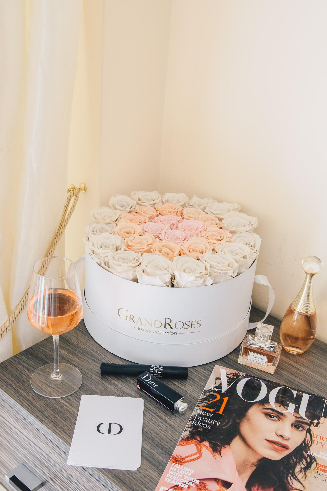 Dior Makeup British Vogue Grand Roses