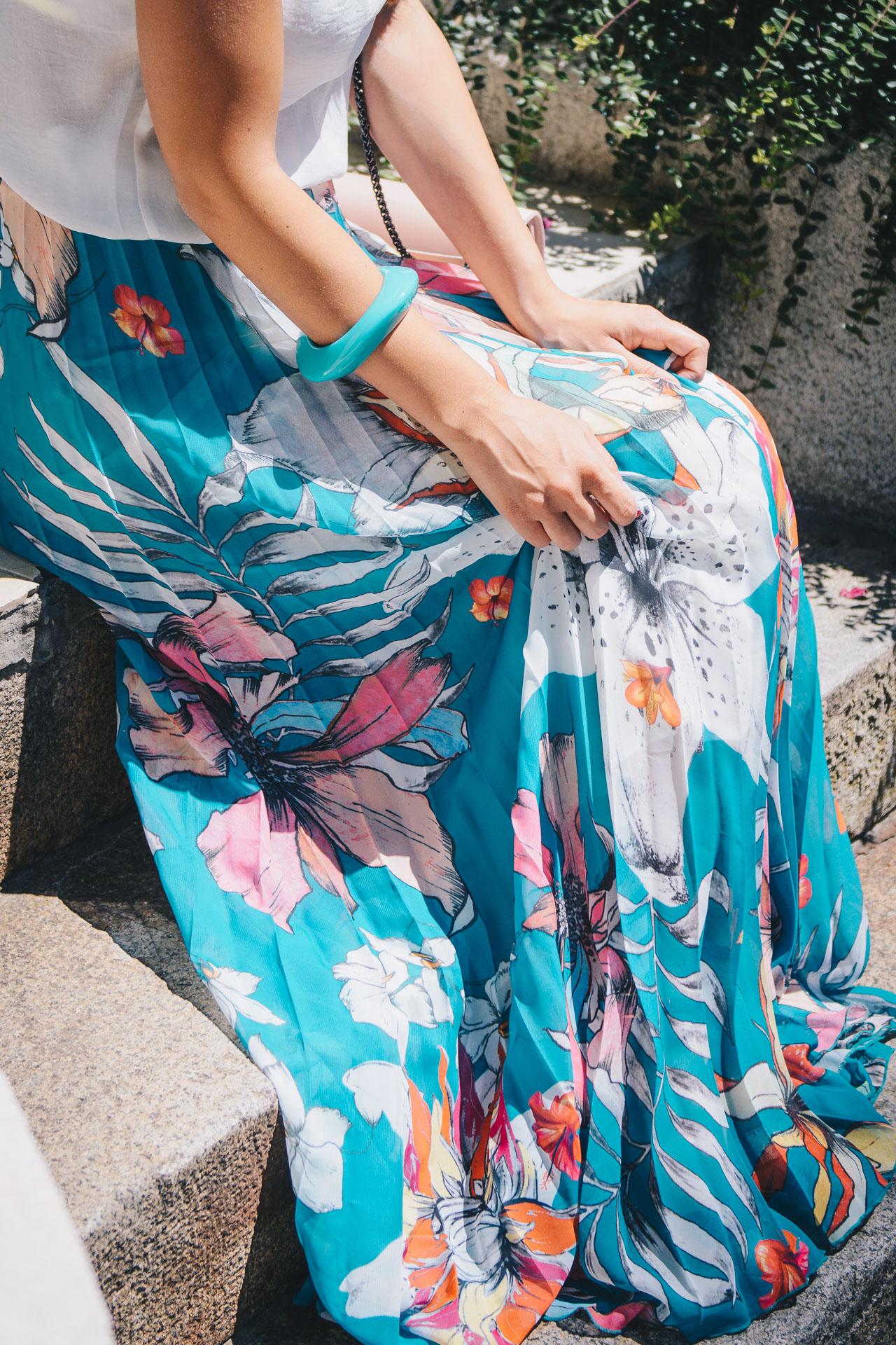 Floral skirt 05072017