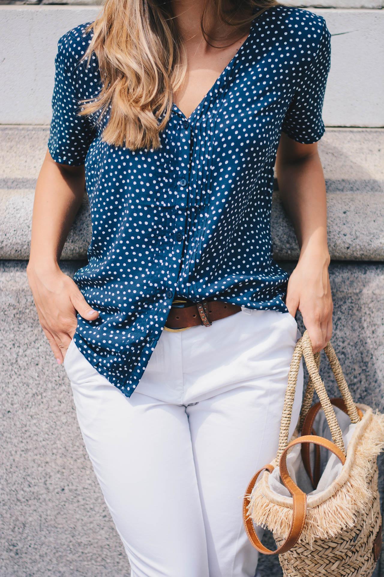 Polka dot shirt 16072017
