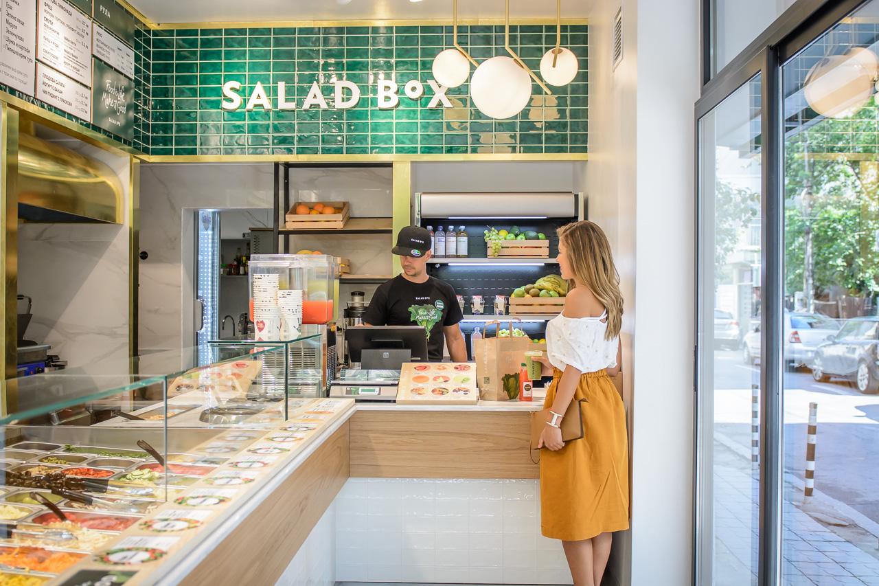 Salad Box blogger