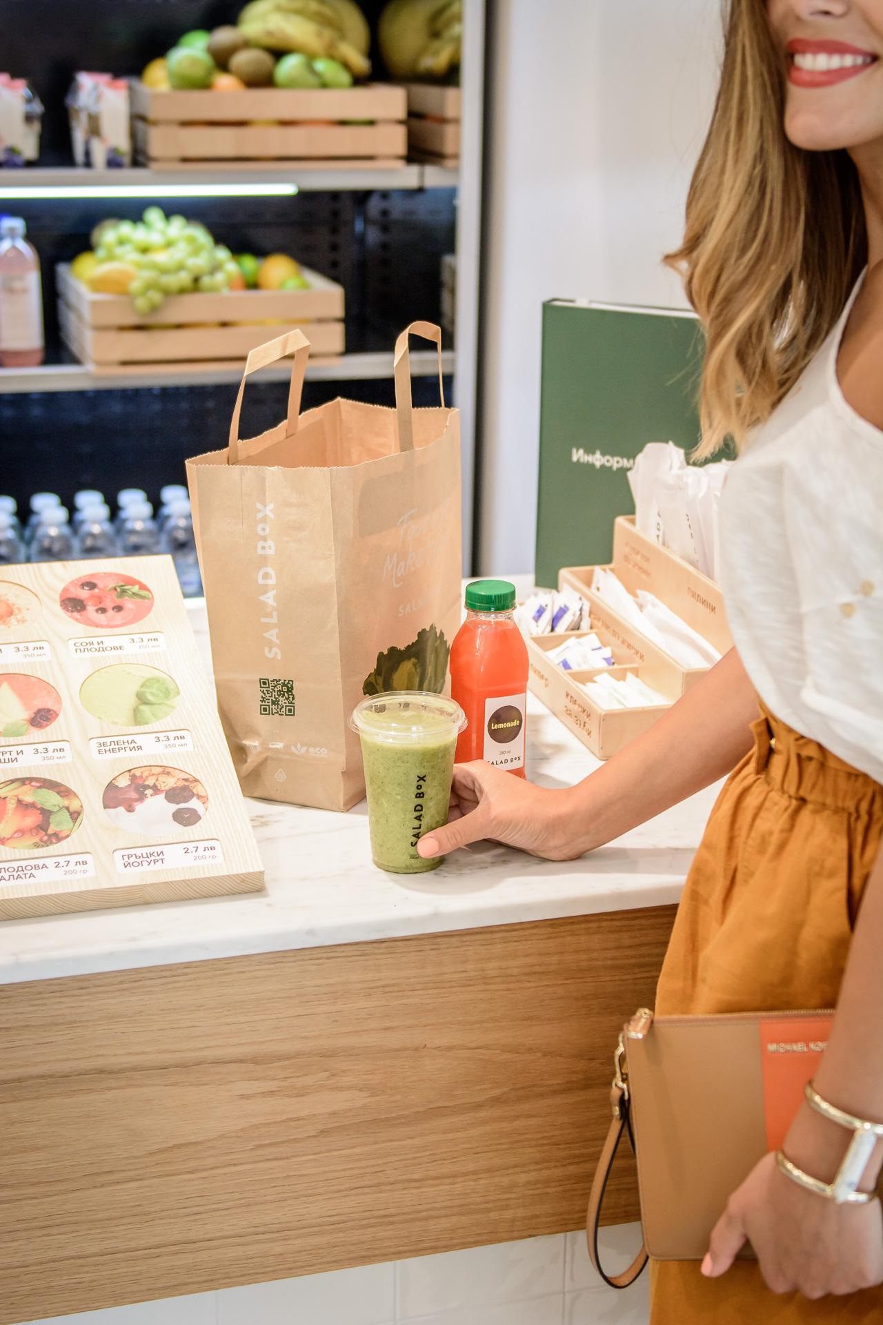 Salad Box orders