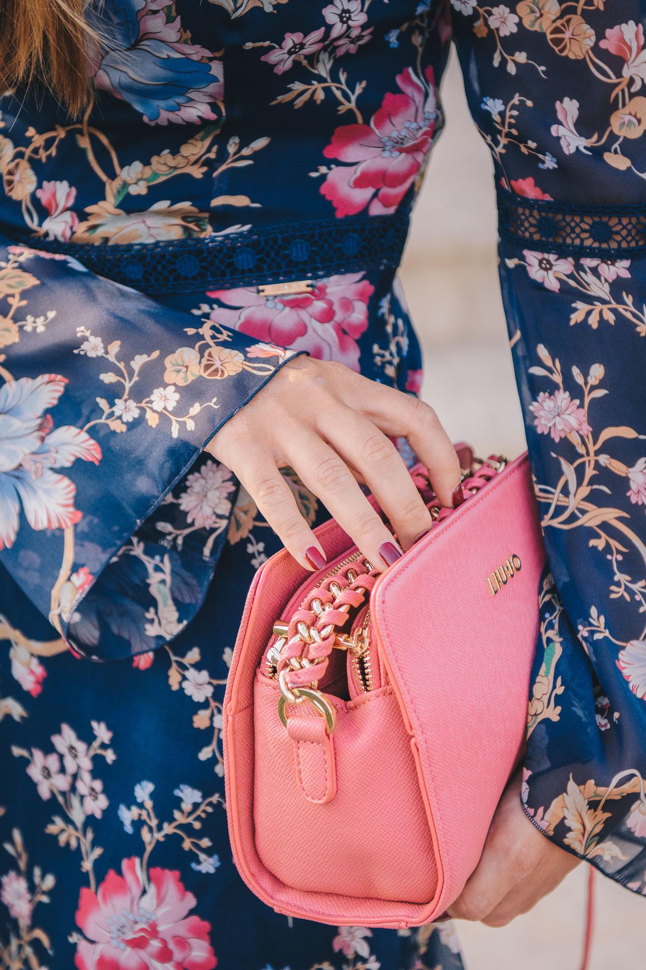 2017 Liu Jo pink handbag