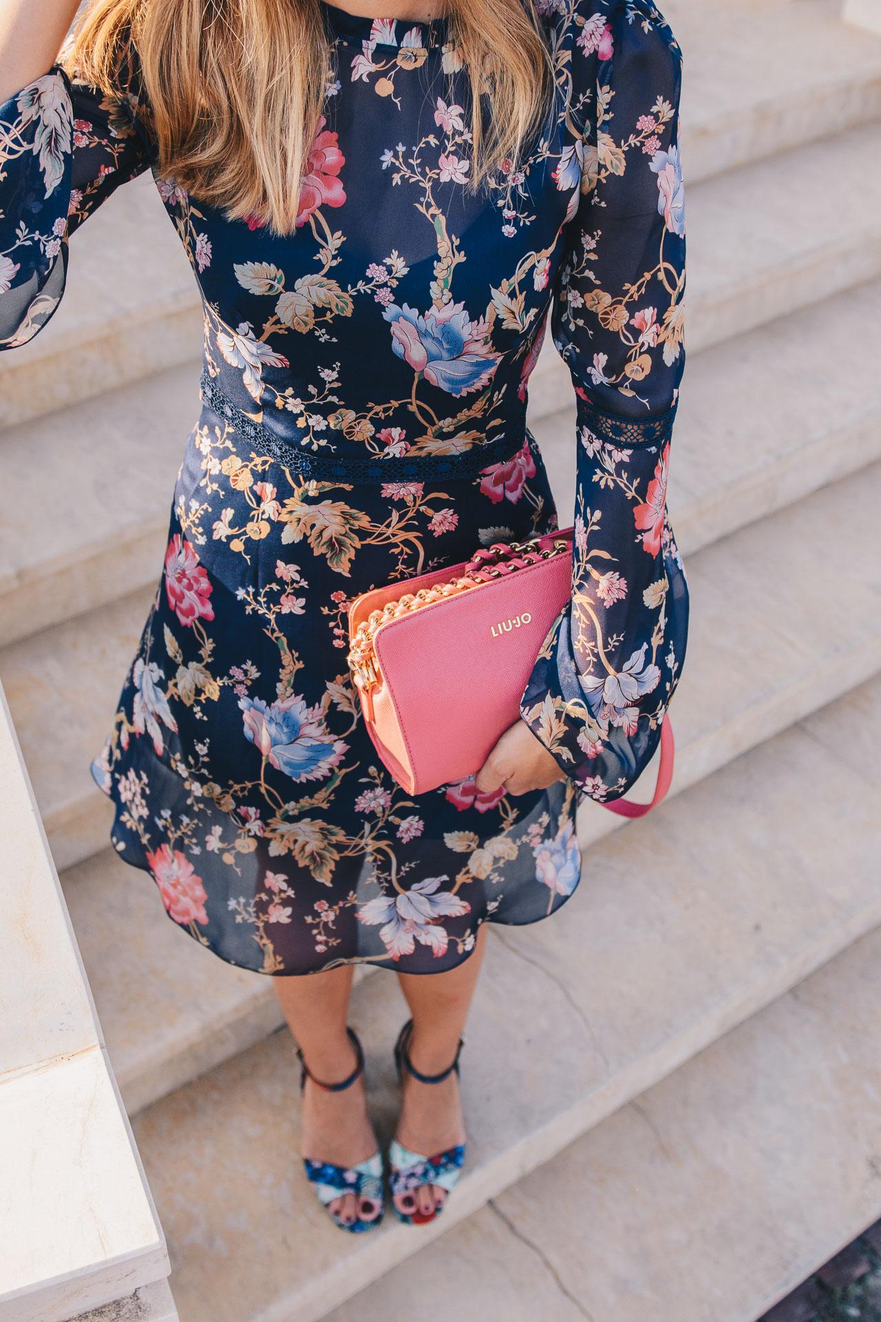 3296007c6a Bulgarian top fashion blogger 20170813 Silk voile floral dress