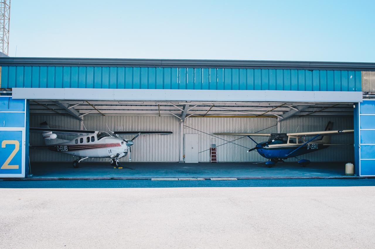Aircraft hangar Bulgaria