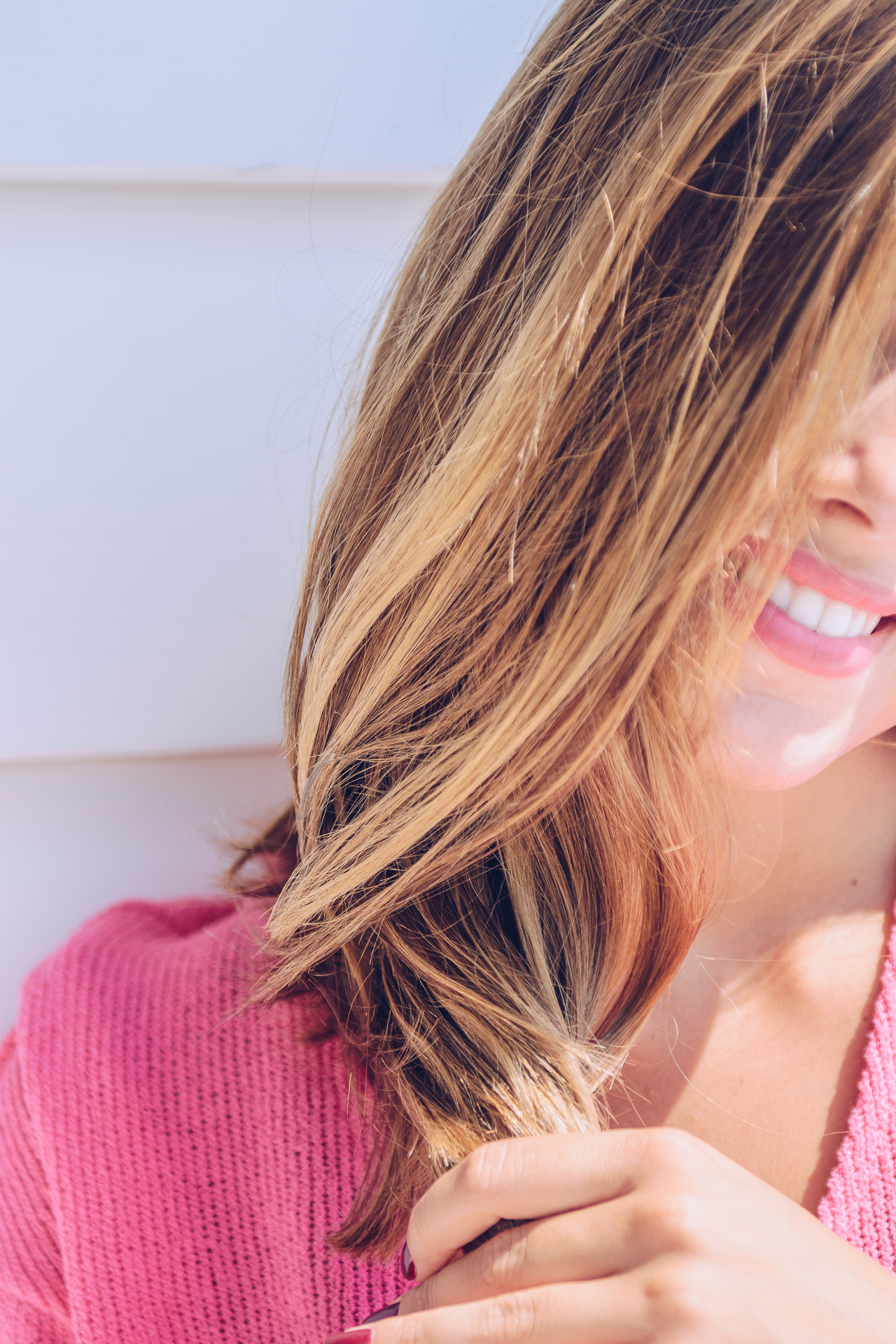Blogger haircare