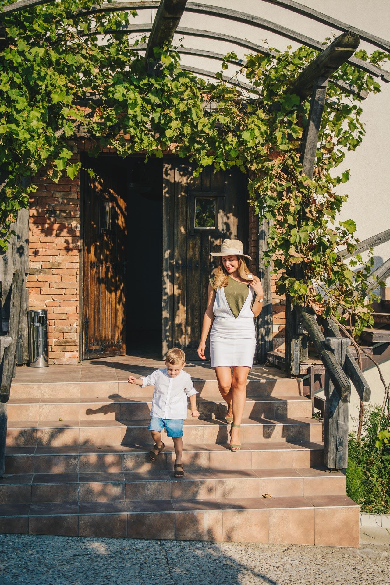 Family holiday at seven generation winery
