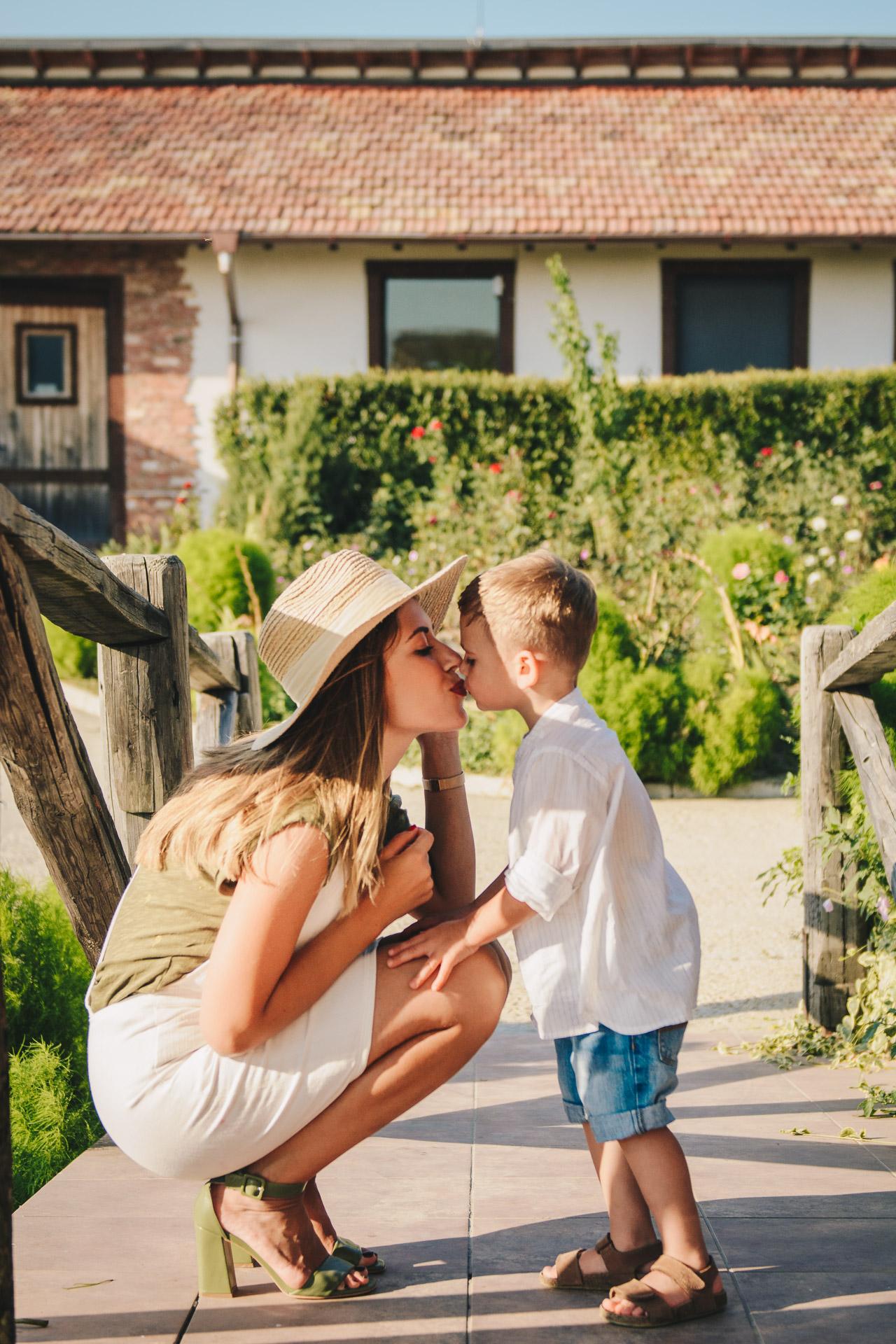 Family holiday at seven generation