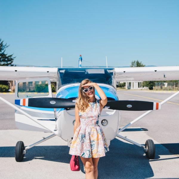 Private Flight - Flying retro with Jet Ops - Полет в небето