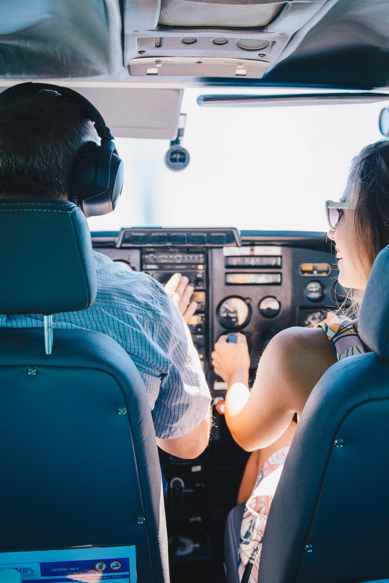 Having fun piloting aircraft