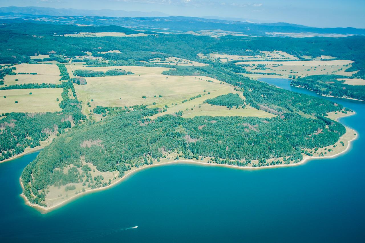 Iskar dam Bulgaria
