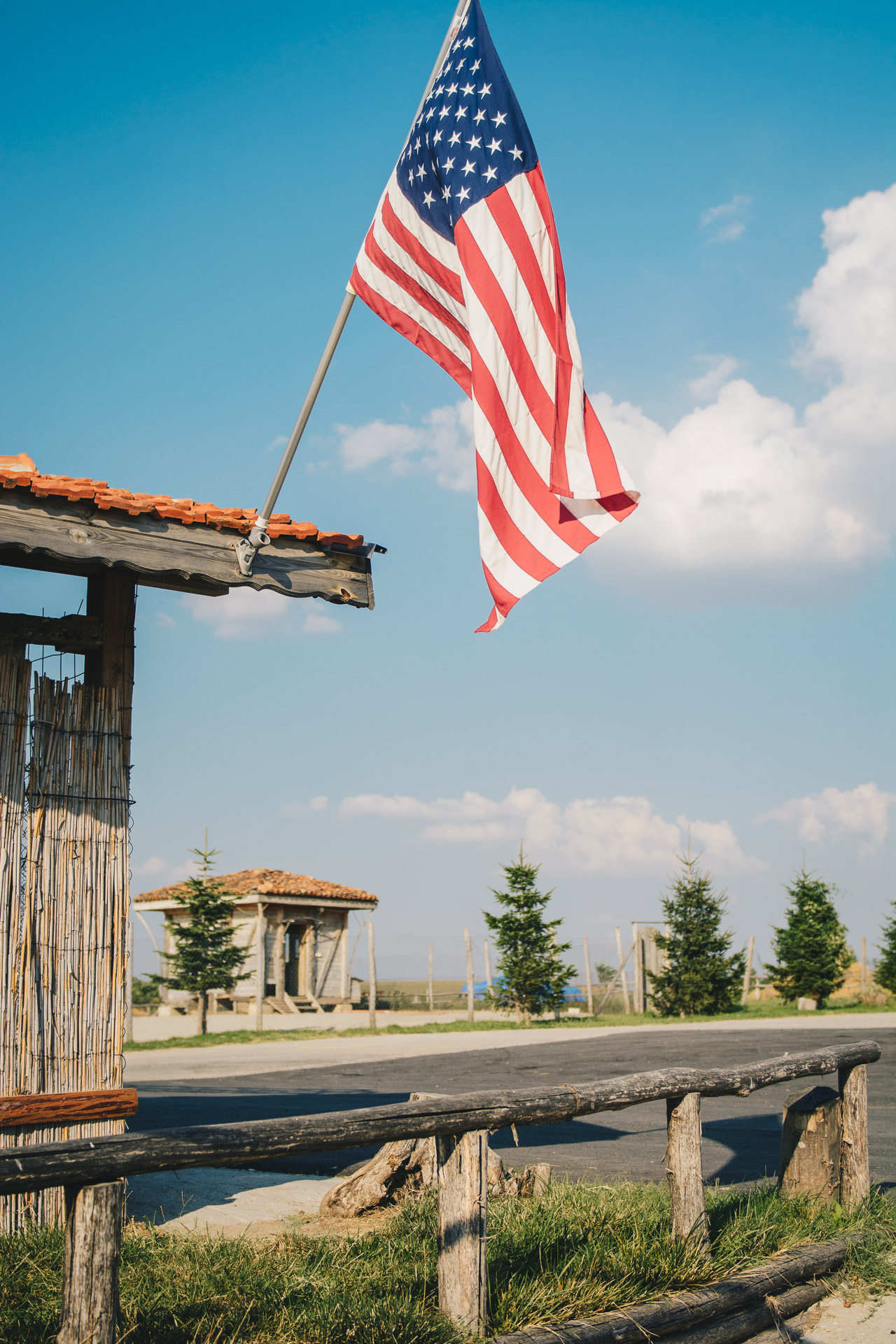 Seven generation winery american flag