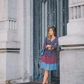 Tom Tailor midi dress - One Day in Bucharest