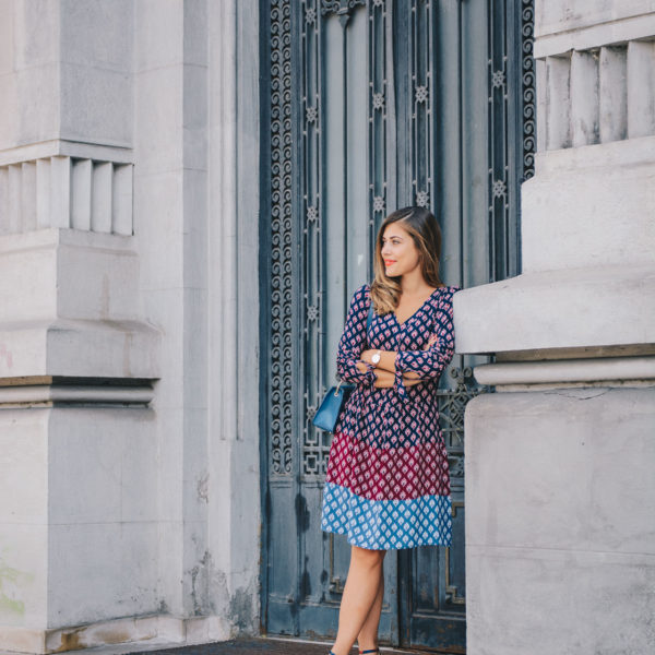 Tom Tailor midi dress - One Day in Bucharest