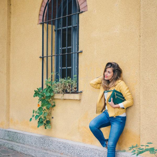 Есен в жълто Модният блогър Денина Мартин